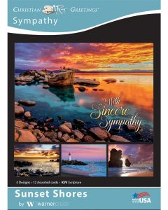 Boxed Card - Sympathy - Sunset Shores
