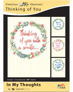 Boxed Card - Thinking of You : In My Thoughts