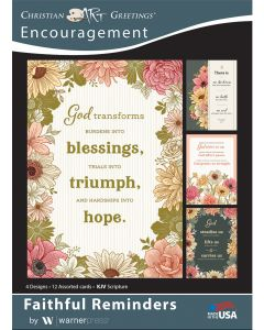 Boxed Card - Encouragement, Faithful Reminder