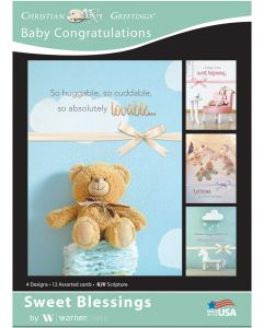 Boxed Card - Baby Congratulations : Sweet Blessings