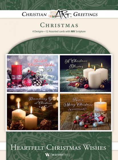 Boxed Card - Heartfelt Christmas Wishes