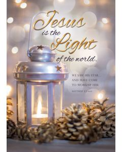 Boxed Card - Christmas - Jesus is the Light Matt 2:2 NIV
