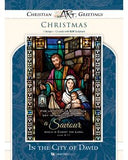 Boxed Christmas Card - In the City of David