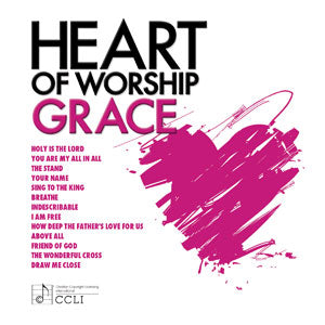 Heart of Worship: Grace (Maranatha! Singers) - KI Gifts Christian Supplies