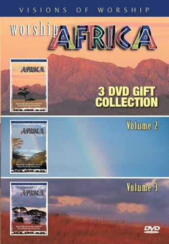 Worship Africa 3DVD Set - KI Gifts Christian Supplies