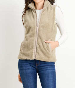 Fleece Soft Vest