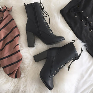 Black Babe Booties