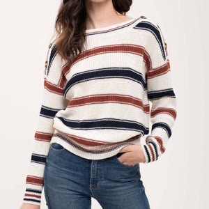 Fall Stripe Sweater