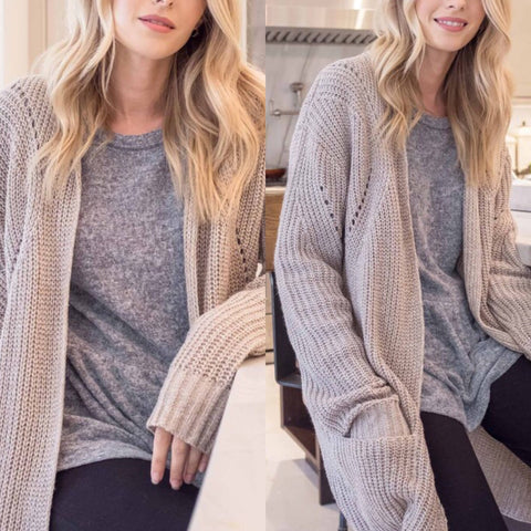 Stella Knit Long Sweater