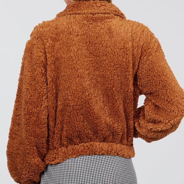 Brown Teddy Bear Sweater
