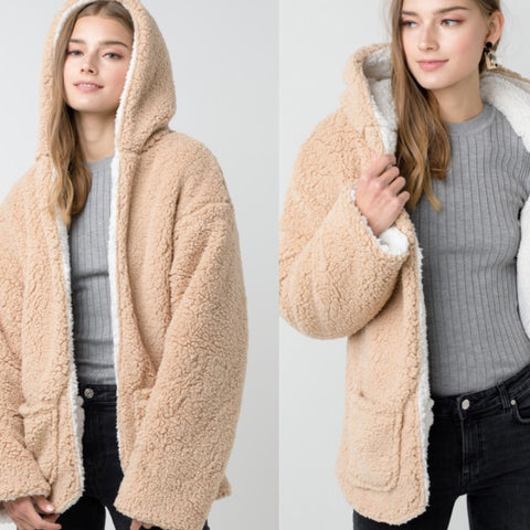 Reversible Teddy Bear Sweater