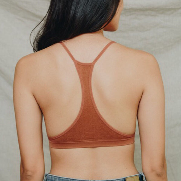 Copper Criss Cross Bralette