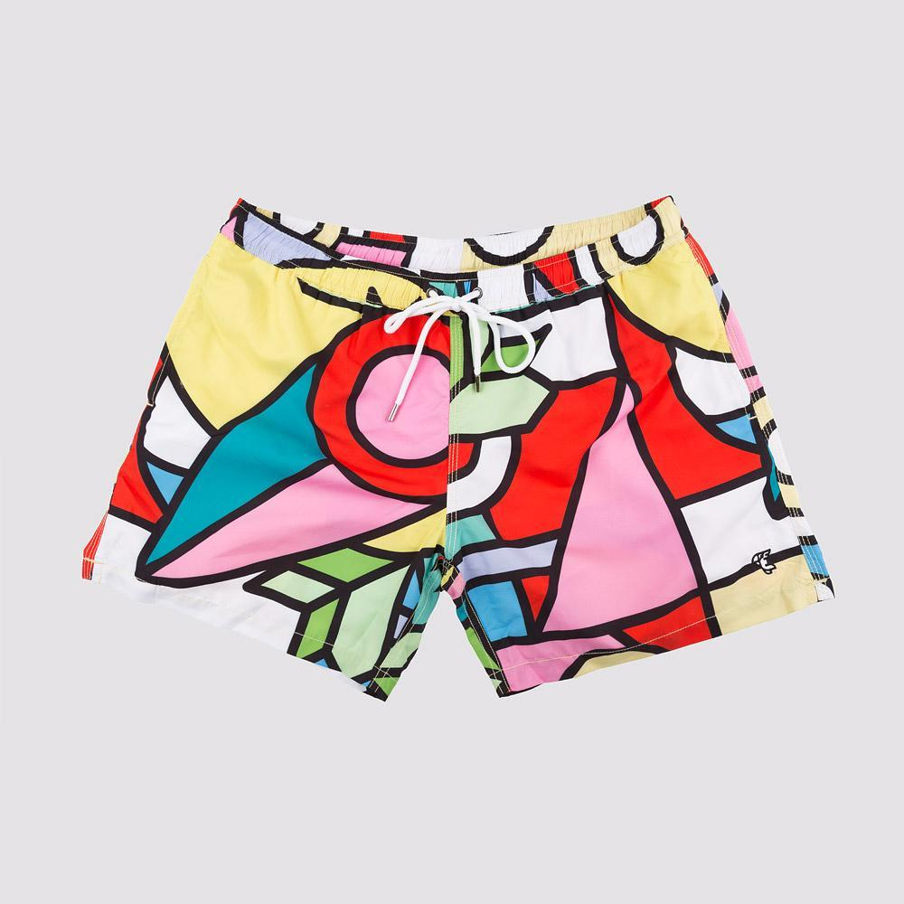 Men Swimwear - Pop Art