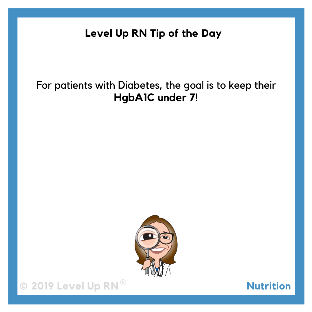 Diabetes HgbA1C Levels