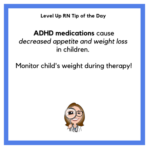 LevelUpRN ADHD Medication Tip of the Day