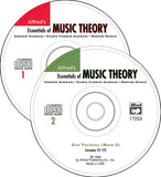 Alfreds Essentials of Music Theory Ear Training CD 1 and 2 for Books 1 to 3