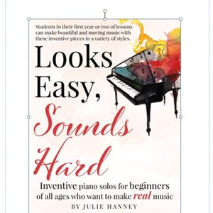 Looks Easy, Sounds Hard Piano Book