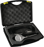 SHS Audio SM1 Dynamic Microphone w/Cable and Case
