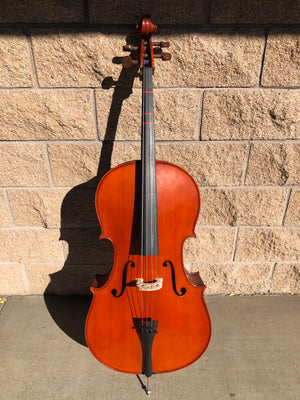 Yamaha VC5 4/4 Cello with Bag and Bow USED