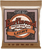 Ernie Ball 2148 Earthwood Light 11-52 Phosphor Bronze Acoustic Guitar Strings