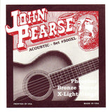 John Pearse 500XL Extra Light 10-47 Acoustic Guitar Strings