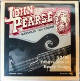 John Pearse 2200H Heavy 80/20 Bronze Wound Mandolin Strings