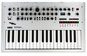 Korg Minilogue 4-voice Analog Polyphonic Synthesizer