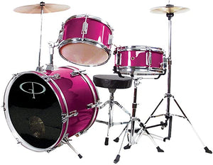 GP Percussion GP50MPK Complete Junior Drum Set Pink