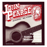John Pearse 700M Medium 13-56 Acoustic Guitar Strings