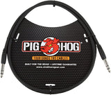 Pig Hog 3ft PTRS03 TRS Cable