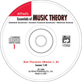 Alfreds Essentials of Music Theory Ear Training CD for Books 1 & 2
