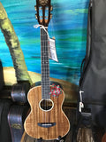 Sound Smith A30 TL Acacia Baritone Ukulele w/HSC Tooled Leather