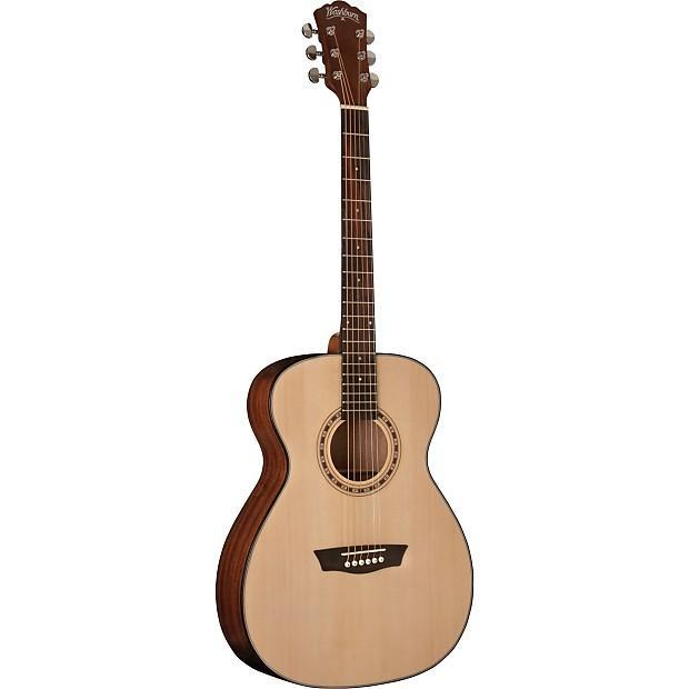 Washburn AF5K Acoustic Guitar w/Case New