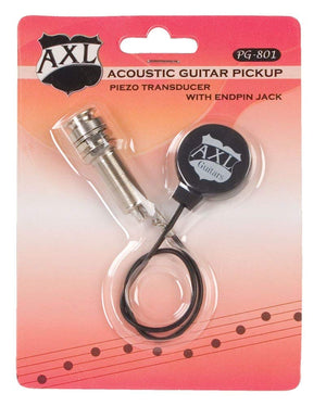 AXL PG801 Acoustic Guitar Transducer Pickup with Endpin Jack