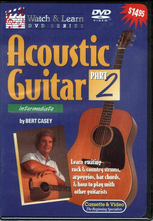 Acoustic Guitar Part 2 Intermediate DVD