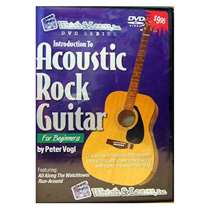 Acoustic Rock Guitar For Beginners DVD
