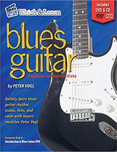 Blues Guitar Book Deluxe Edition with DVD and CD