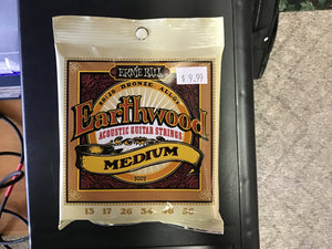 Ernie Ball 2002 Medium Earthwood