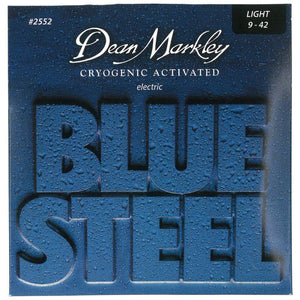 Dean Markley 9-42 Light Blue Steel Electric Guitar Strings #2552