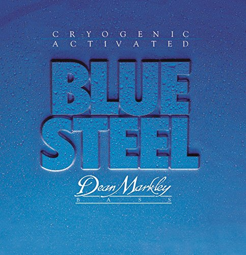 Dean Markley 2674A Medium Light Blue Steel 45-105 Bass Guitar Strings