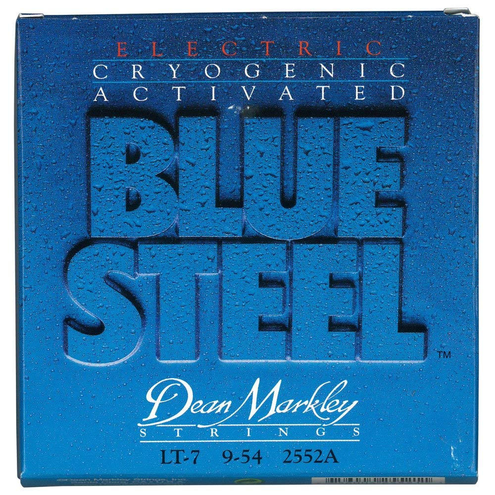 Dean Markley LT-7 9-54 7-String Light Blue Steel Electric Guitar Strings #2552A