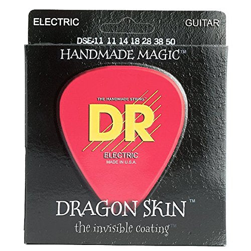 DR DSE-11 Heavy Dragon Skin Electric Guitar Strings