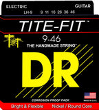 DR LH-9 Light-Heavy Tite-Fit 9-46 Electric Guitar Strings