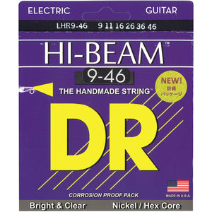DR LHR-9/46 Light-Heavy Hi-Beam 9-46 Electric Guitar Strings