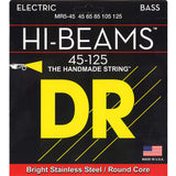 DR MR5-45 Medium 5-String Hi-Beams 45-125 Electric Bass Guitar Strings