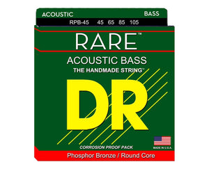 DR RPB-45 Medium Rare 45-105 Acoustic Bass Guitar Strings