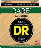 DR RPMH13 Medium Rare Phosphor Bronze Acoustic Guitar Strings