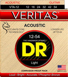DR VTA-12 Light Veritas Phosphor Bronze Acoustic Guitar Strings