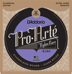 D'Addario EJ44 Pro-Arte Nylon Extra Hard Tension Classical Guitar Strings