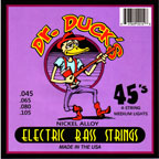 Dr. Duck's 45's Medium 45-105 Electric Bass Guitar Strings